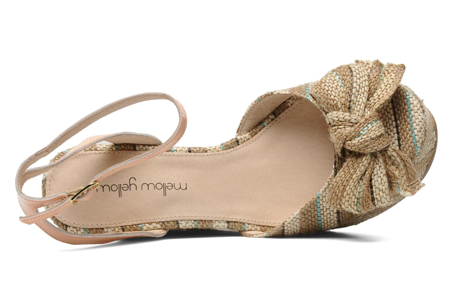 Sandals Mellow Yellow Nereis Beige view from the left