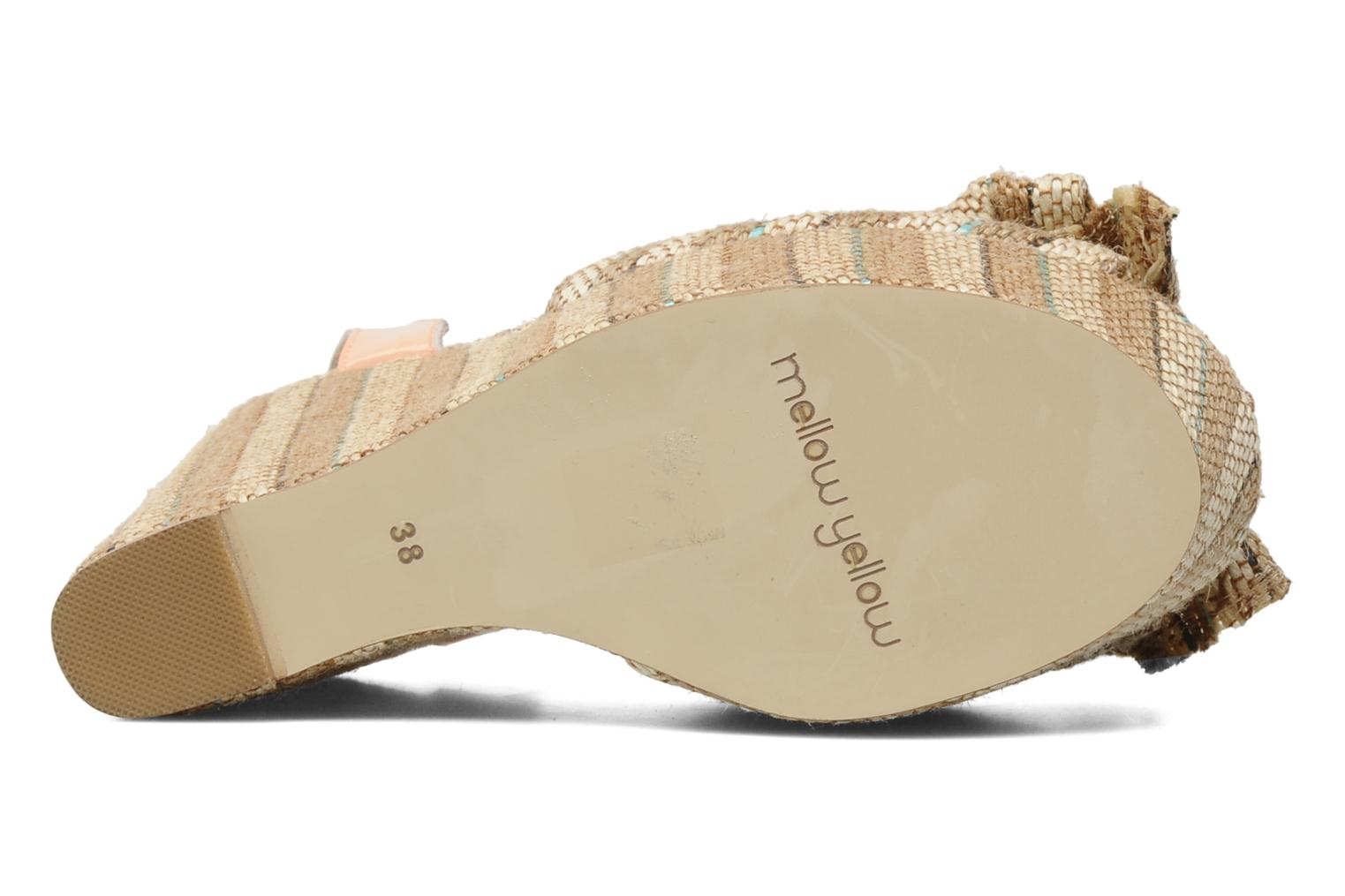 Sandals Mellow Yellow Nereis Beige view from above