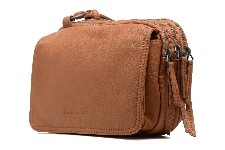 Handbags Liebeskind Berlin Maike Brown model view