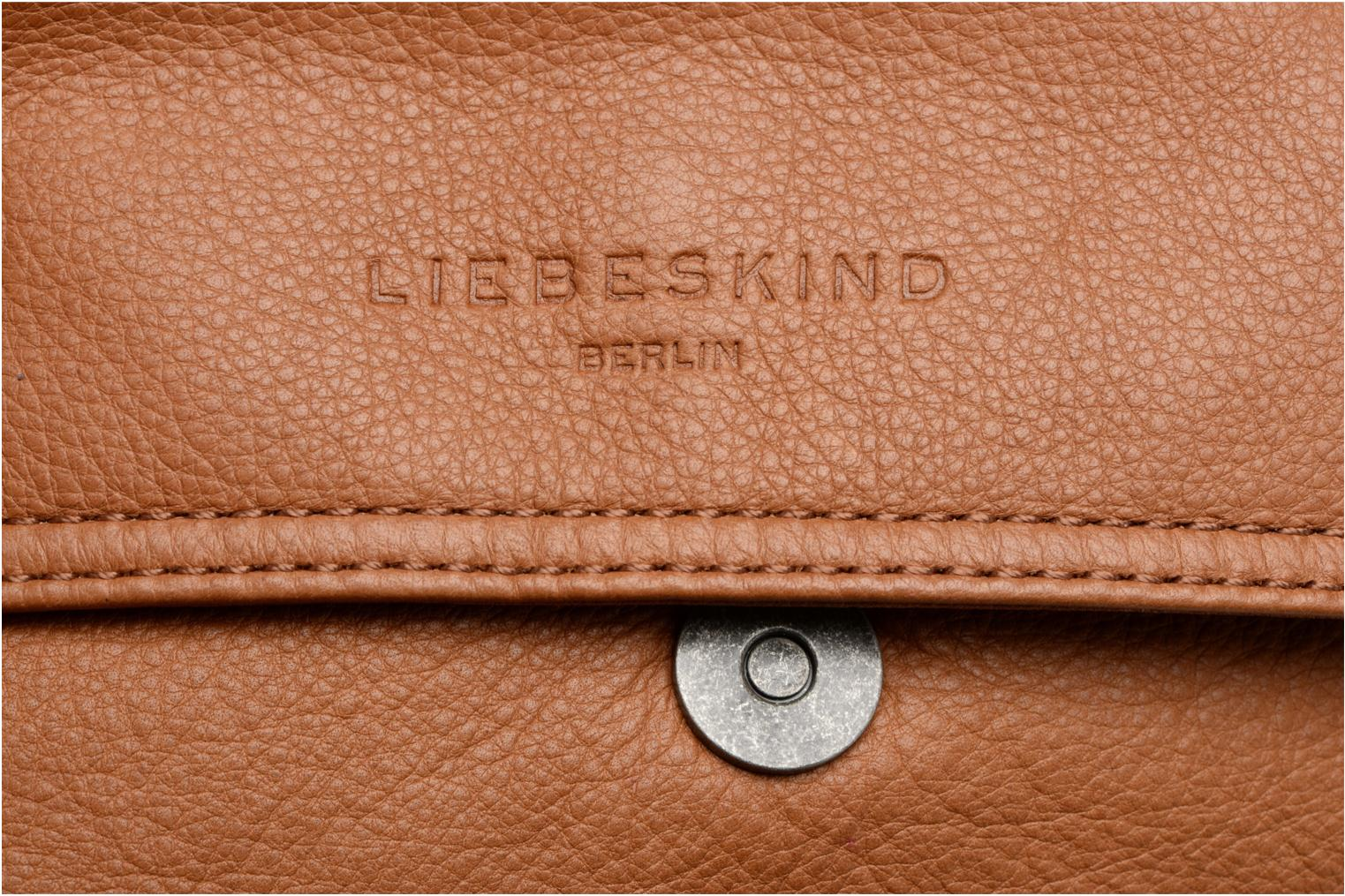 Handbags Liebeskind Berlin Maike Brown view from the left