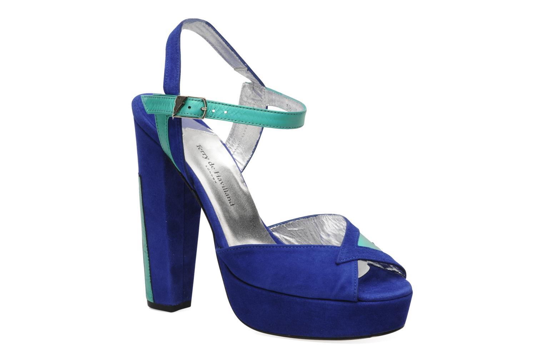 Los últimos zapatos de descuento para hombres y mujeres Terry de Havilland MAREVNA (Azul) - Sandalias en Más cómodo