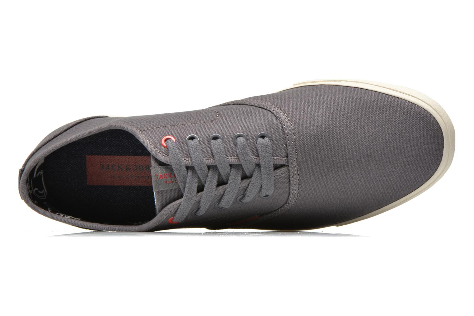 Sneaker Jack & Jones JJ Spider grau ansicht von links