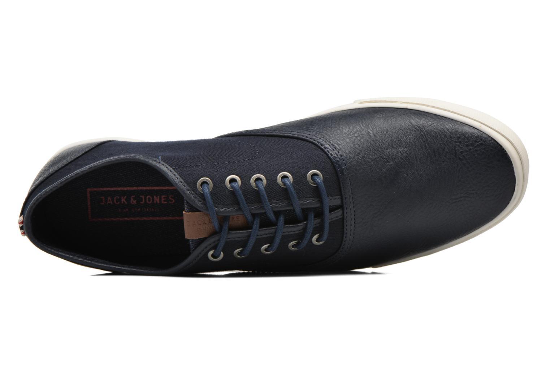 Sneaker Jack & Jones JJ Spider blau ansicht von links