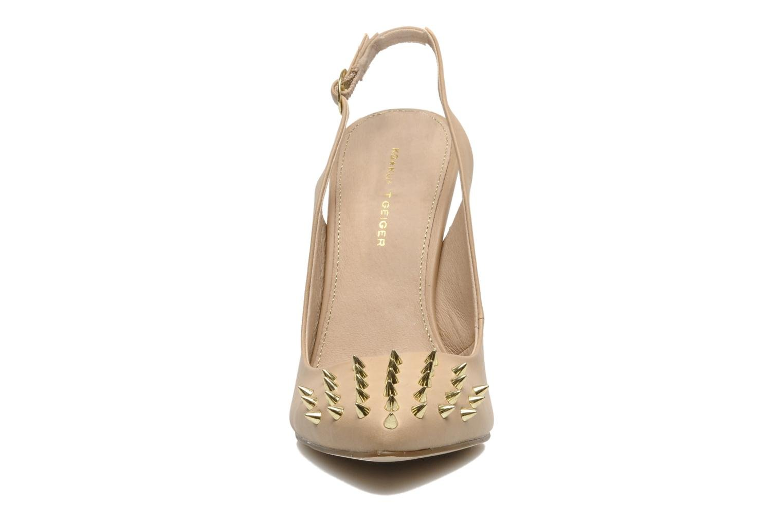 High heels KG By Kurt Geiger Culprit Beige model view