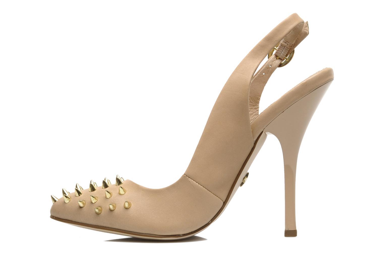 High heels KG By Kurt Geiger Culprit Beige front view