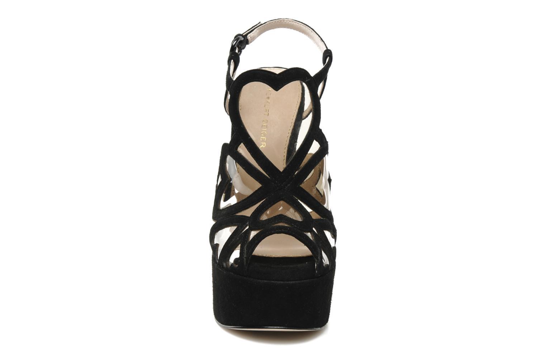 Sandales et nu-pieds KG By Kurt Geiger Kutie Noir vue portées chaussures