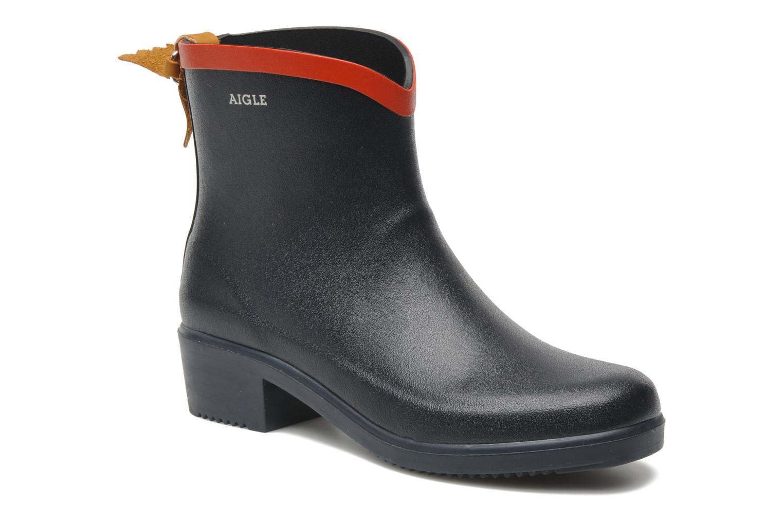 Bottines et boots Aigle Miss Juliette Bottillon Bleu vue détail/paire
