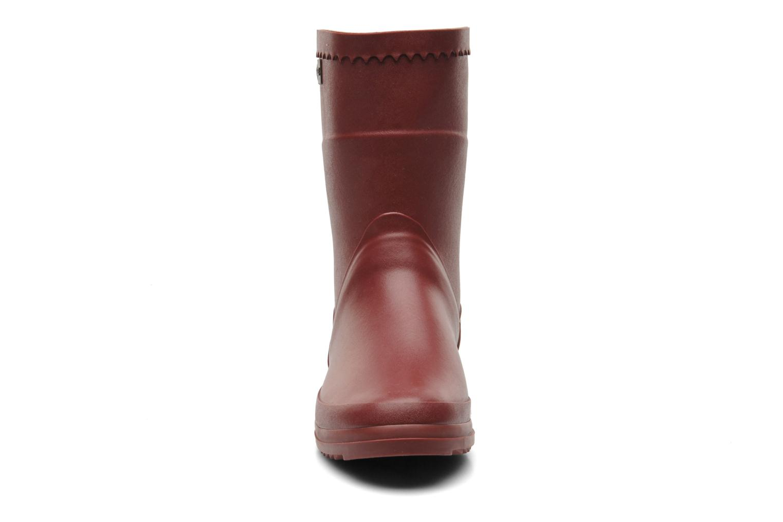Stiefeletten & Boots Aigle Bison Lady weinrot schuhe getragen
