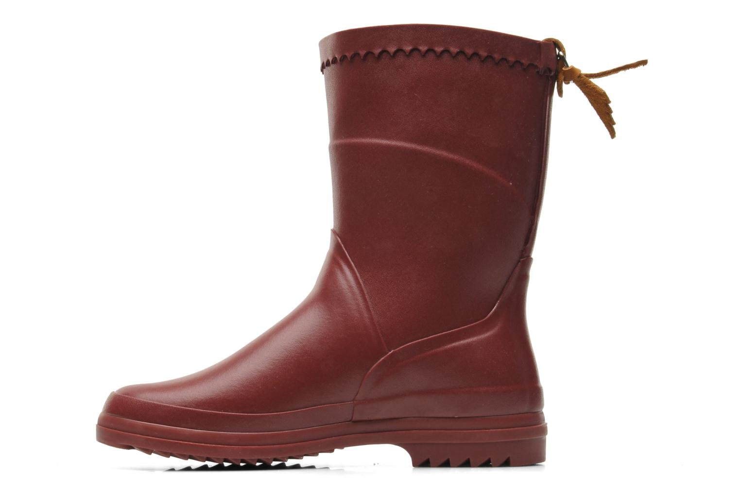 Bottines et boots Aigle Bison Lady Bordeaux vue face