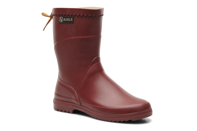 Stiefeletten & Boots Aigle Bison Lady weinrot detaillierte ansicht/modell
