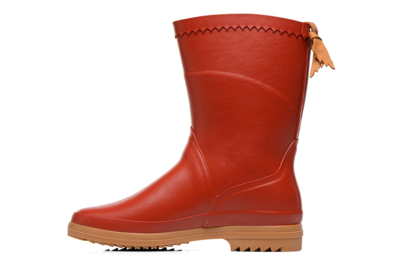 Bottines et boots Aigle Bison Lady Rouge vue face