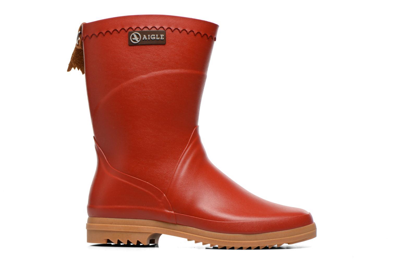 Bottines et boots Aigle Bison Lady Rouge vue derrière