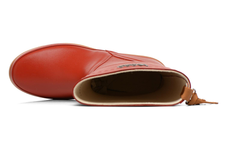 Stiefeletten & Boots Aigle Bison Lady rot ansicht von links