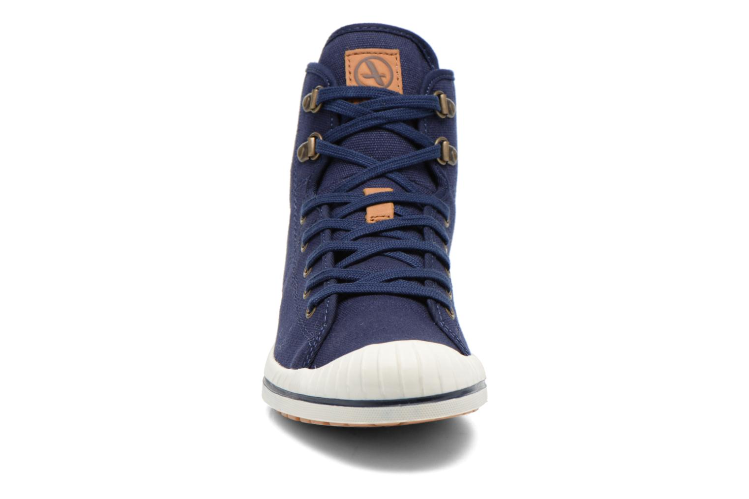Lace-up shoes Aigle Kitangiri Mid W Blue model view