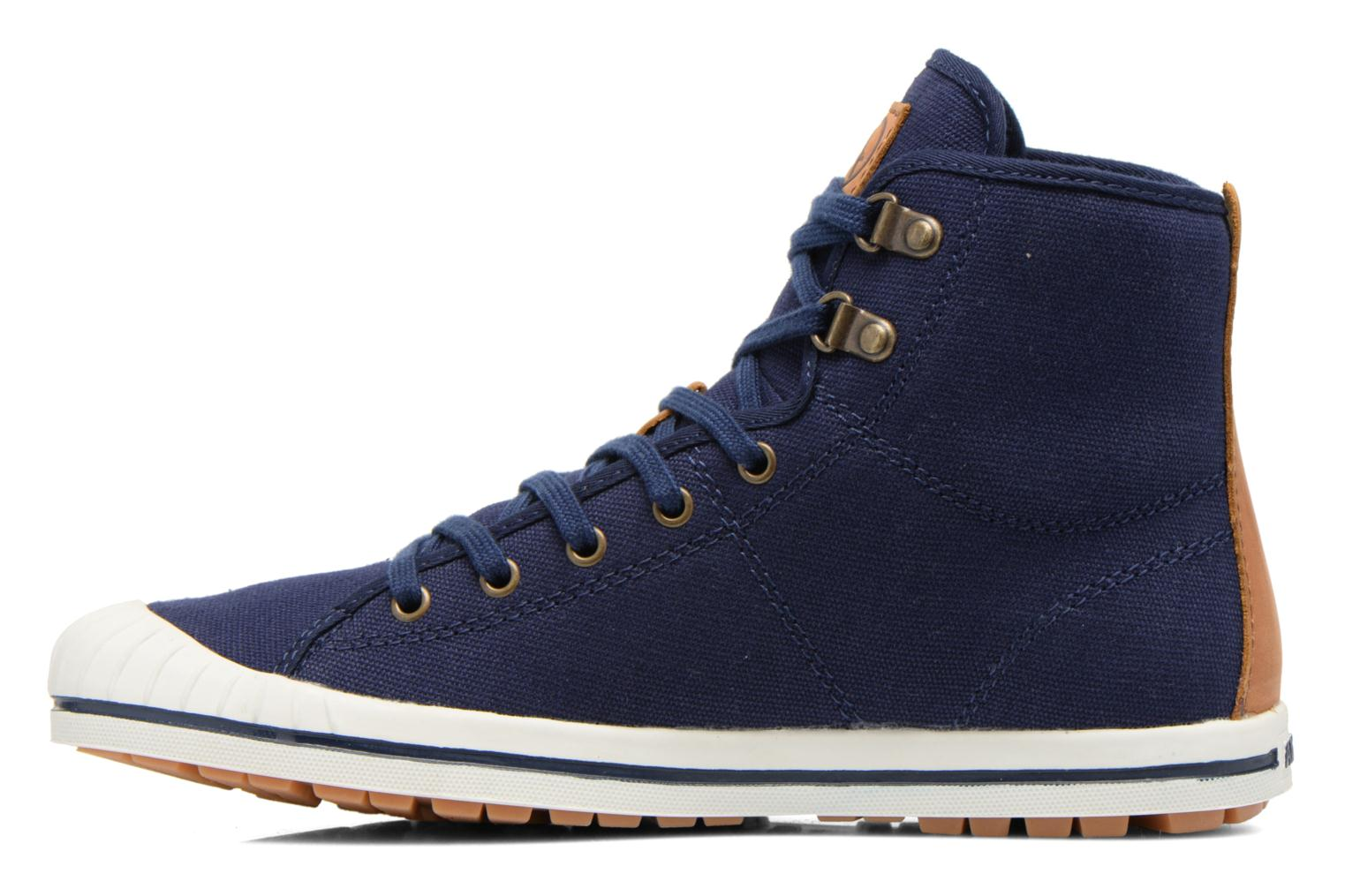 Lace-up shoes Aigle Kitangiri Mid W Blue front view