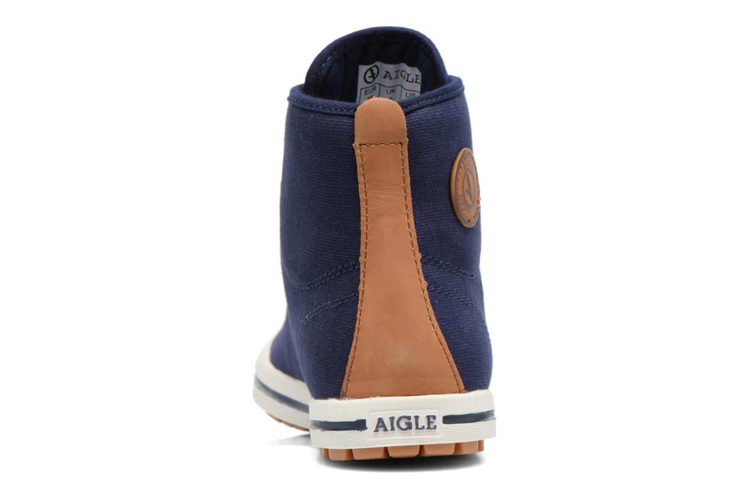Lace-up shoes Aigle Kitangiri Mid W Blue view from the right