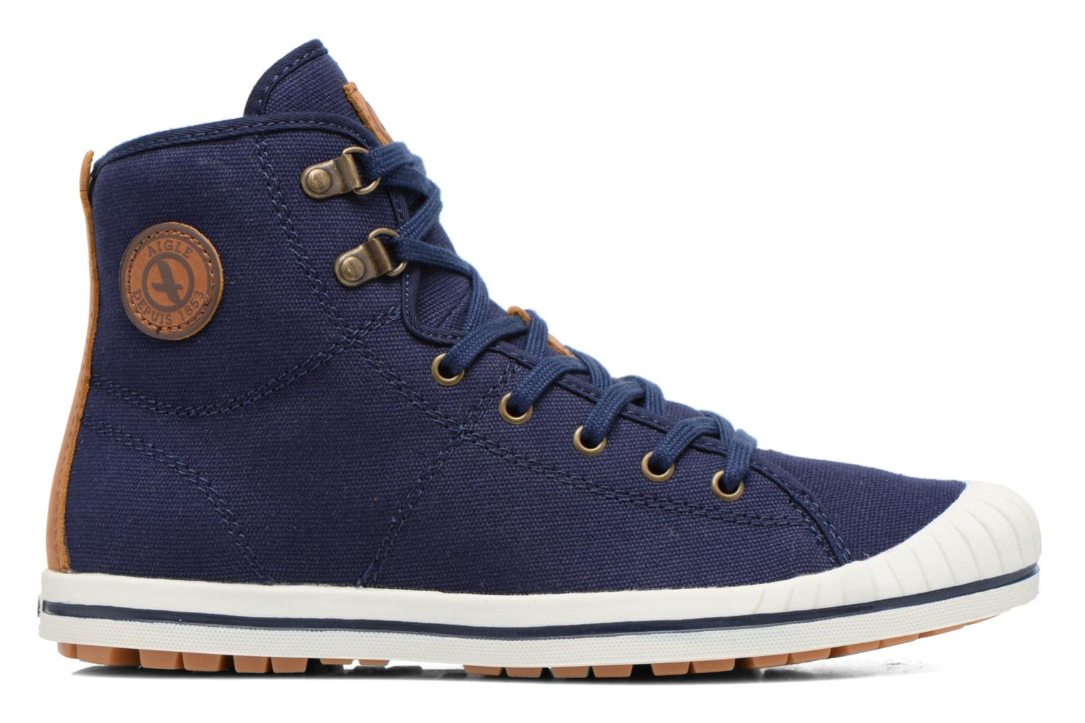 Lace-up shoes Aigle Kitangiri Mid W Blue back view