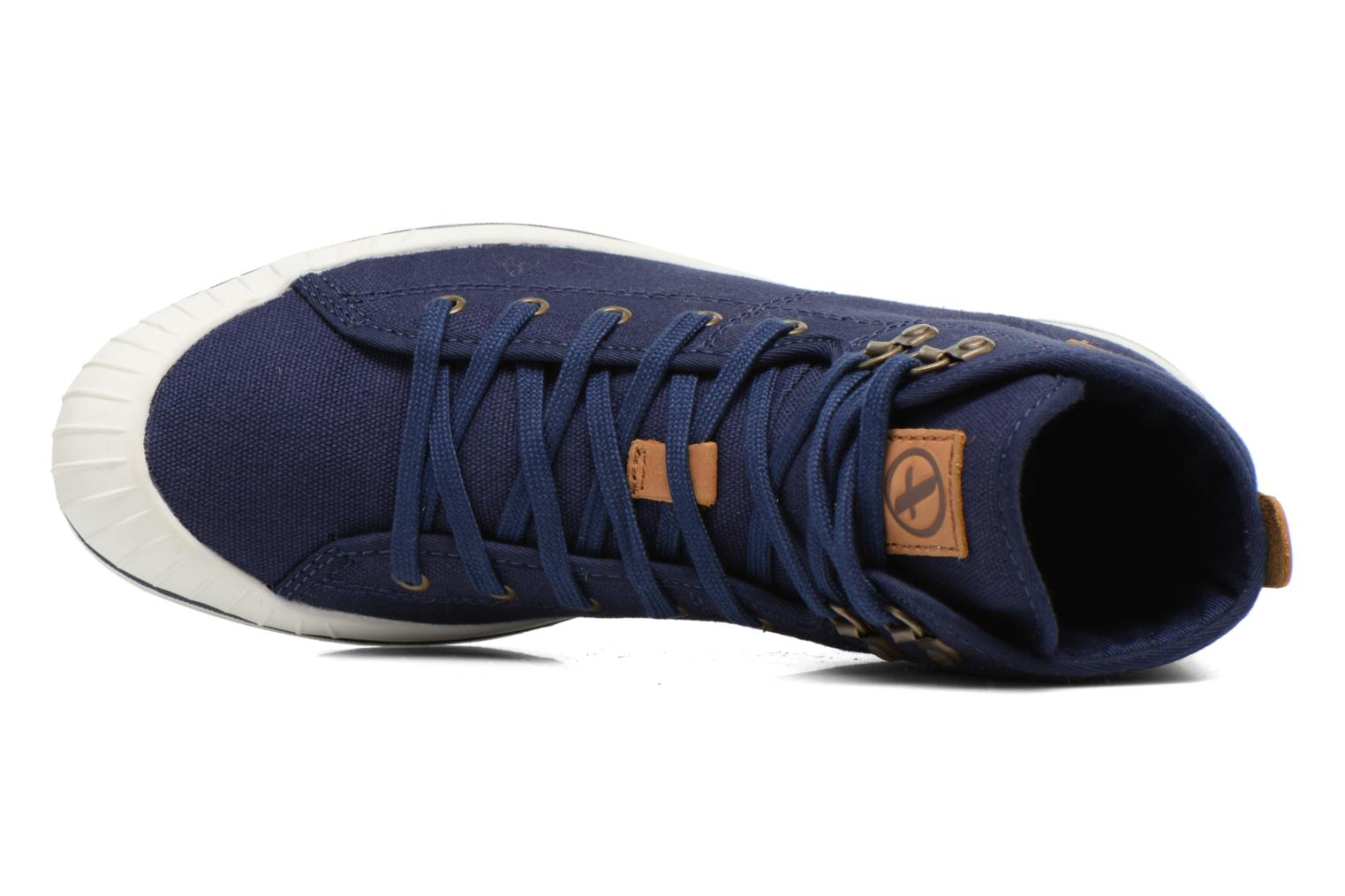 Lace-up shoes Aigle Kitangiri Mid W Blue view from the left