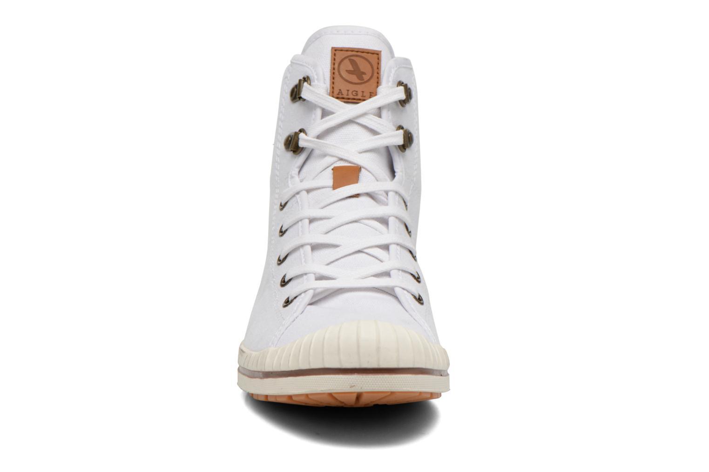 Schnürschuhe Aigle Kitangiri Mid W weiß schuhe getragen
