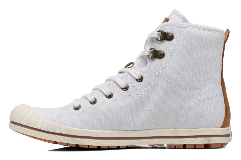 Chaussures à lacets Aigle Kitangiri Mid W Blanc vue face