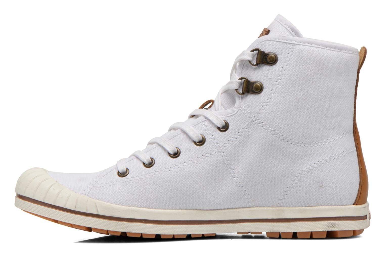 Chaussures à lacets Aigle Kitangiri Mid W Blanc vue face