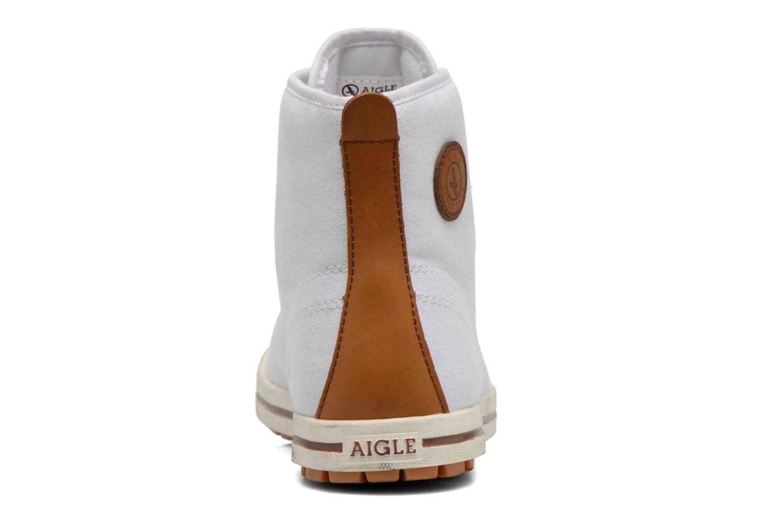 Chaussures à lacets Aigle Kitangiri Mid W Blanc vue droite
