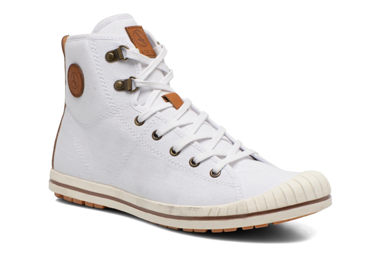 Chaussures à lacets Aigle Kitangiri Mid W Blanc vue détail/paire
