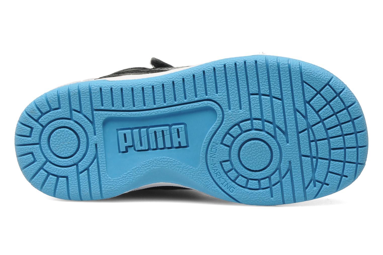 Sneaker Puma Full Court Hi V Kids schwarz ansicht von oben