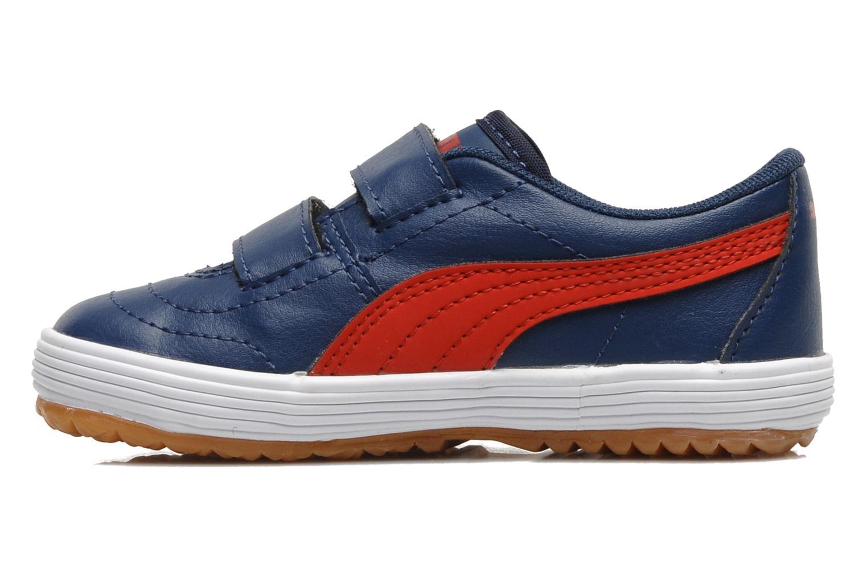 Sneakers Puma Puma Serve Pro V Kids Blauw voorkant