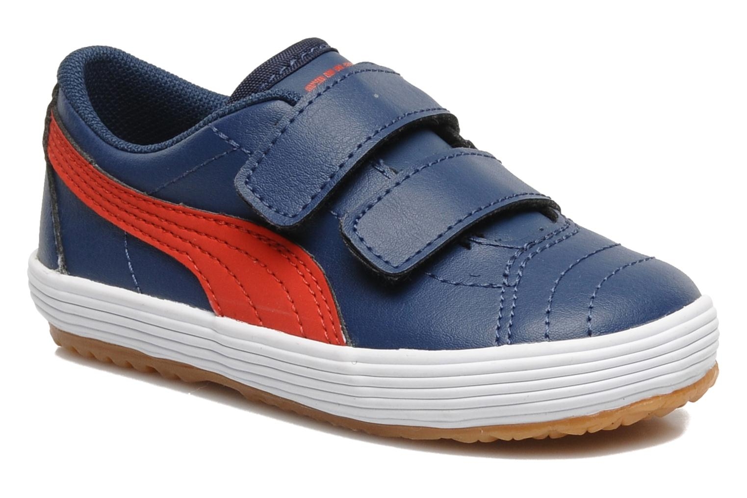 Sneakers Puma Puma Serve Pro V Kids Blauw detail