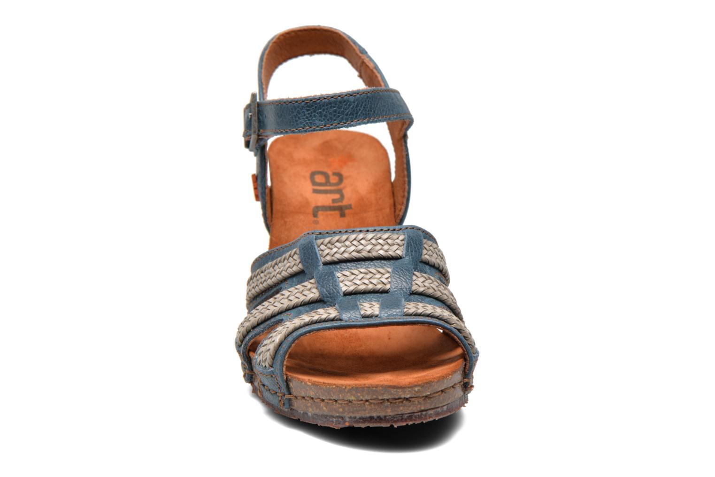 Sandales et nu-pieds Art Valby 405 Bleu vue portées chaussures