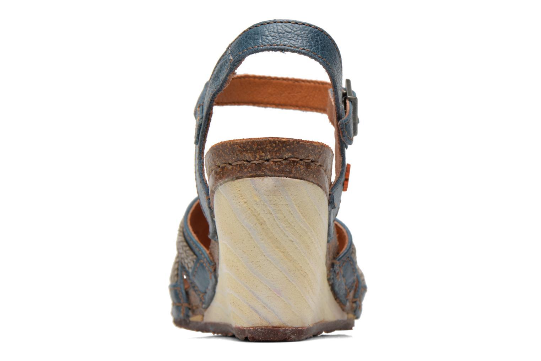 Sandales et nu-pieds Art Valby 405 Bleu vue droite
