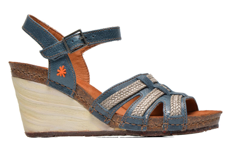 Sandales et nu-pieds Art Valby 405 Bleu vue derrière