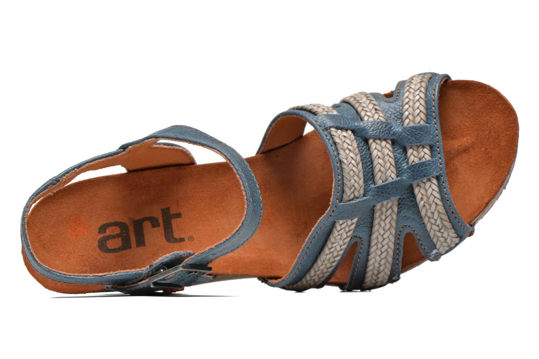 Sandales et nu-pieds Art Valby 405 Bleu vue gauche