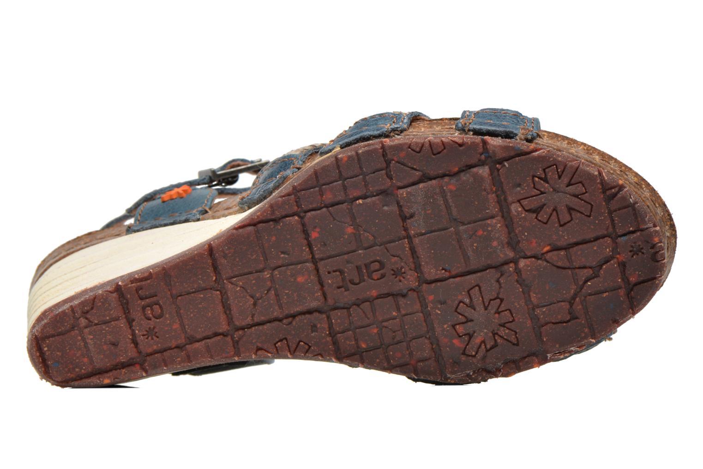 Sandales et nu-pieds Art Valby 405 Bleu vue haut