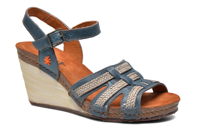 Sandales et nu-pieds Art Valby 405 Bleu vue détail/paire