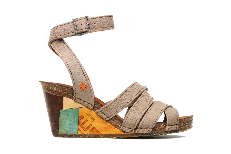 Sandales et nu-pieds Art Kastellet 494 Beige vue derrière