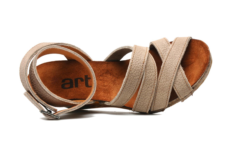 Sandales et nu-pieds Art Kastellet 494 Beige vue gauche