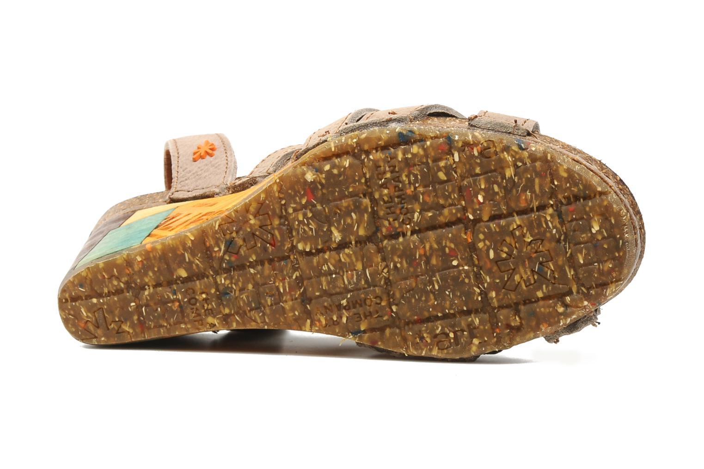Sandales et nu-pieds Art Kastellet 494 Beige vue haut