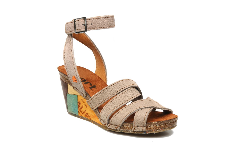Sandales et nu-pieds Art Kastellet 494 Beige vue détail/paire