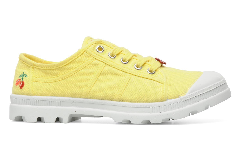 Sneaker Le temps des cerises Luna gelb ansicht von hinten