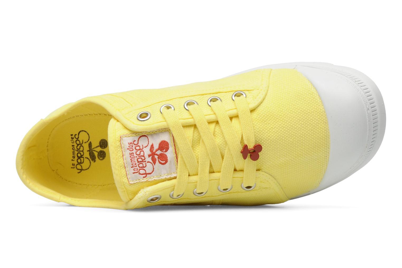Sneaker Le temps des cerises Luna gelb ansicht von links