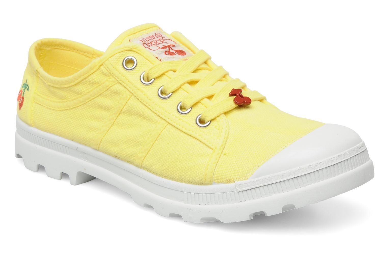 Sneaker Le temps des cerises Luna gelb detaillierte ansicht/modell