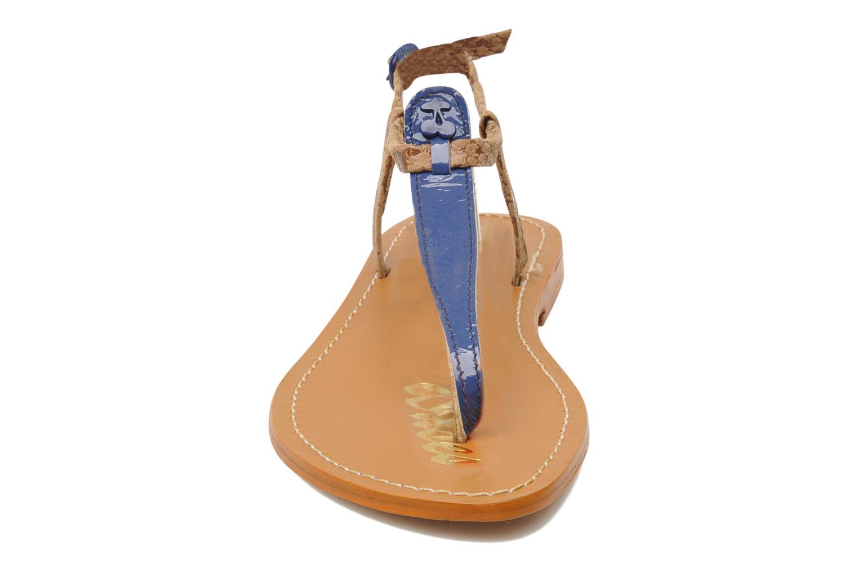 Sandalen Le temps des cerises Chloe blau schuhe getragen