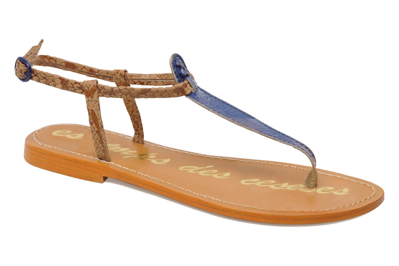 Sandalen Le temps des cerises Chloe blau detaillierte ansicht/modell
