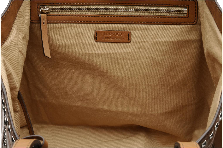 Borse Loxwood Cabas Ramita GM Vintage clouté Marrone immagine posteriore