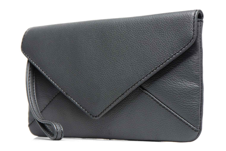 Borse Loxwood Pochette Lana Grigio modello indossato