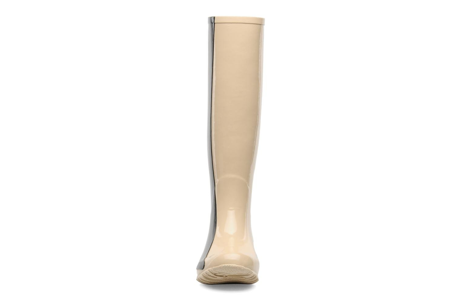 Boots & wellies Be&D Singing in the rainboots Beige model view