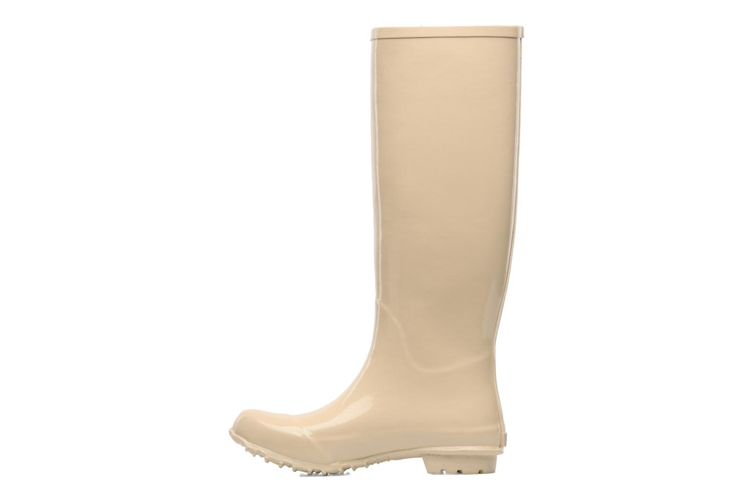Boots & wellies Be&D Singing in the rainboots Beige front view