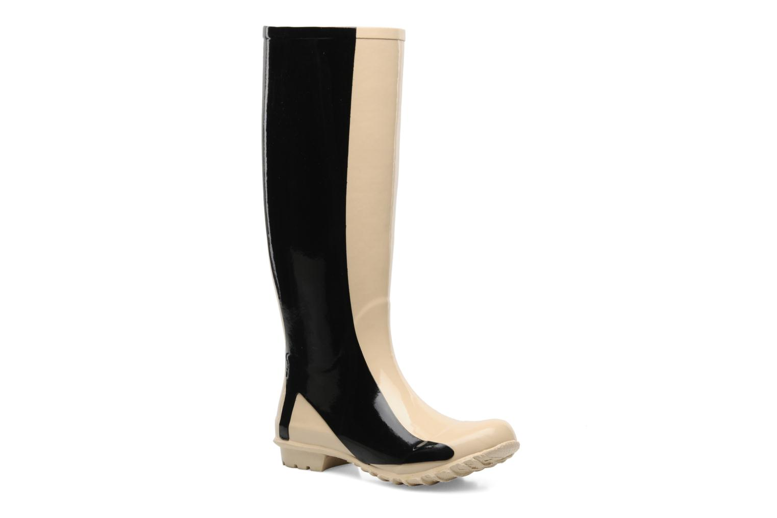 Singing in the rainboots Black